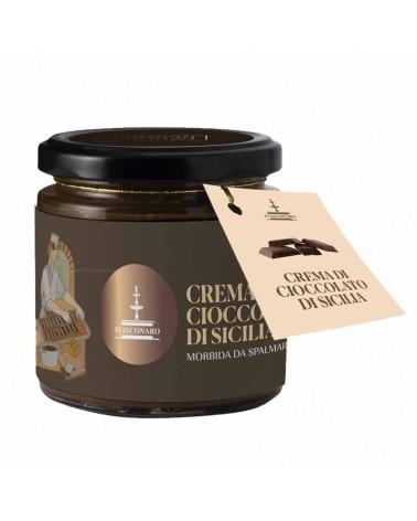 nero sublime crema al cioccolato di Sicilia
