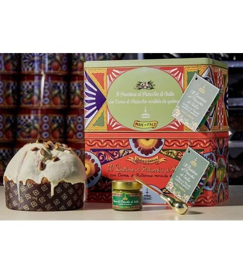 panettone pistacchio dolce & gabbana