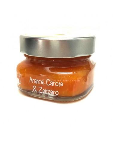 Marmellata di Arance Carote e Zenzero