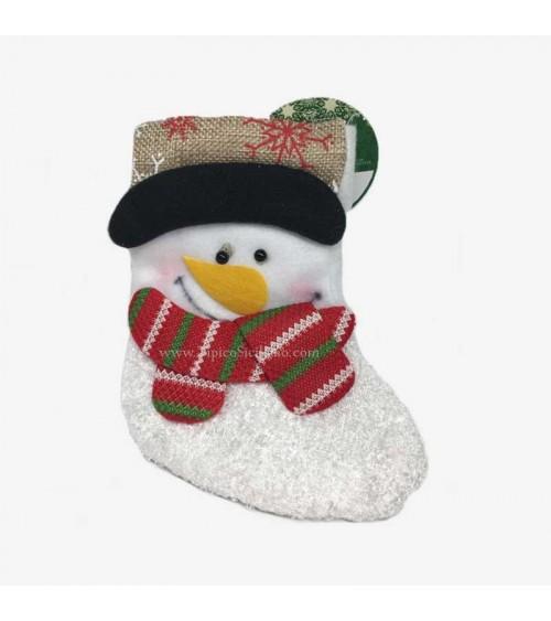 Calzetta Befana Pupazzo di Neve