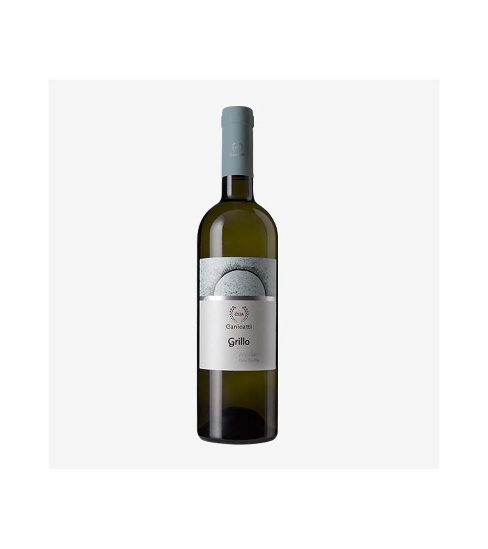Vino bianco grillo