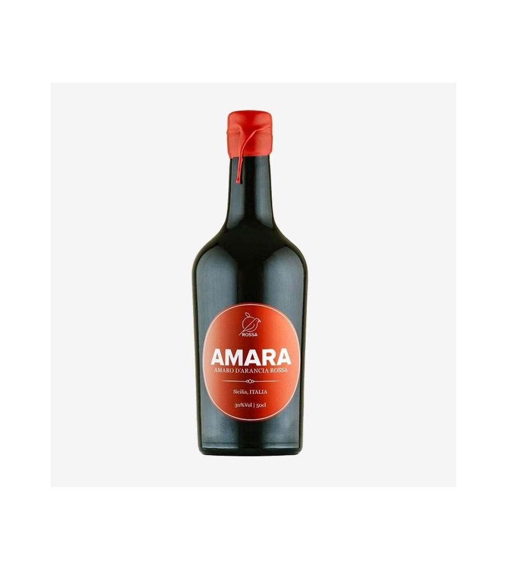 Amaro Amara di Arancia Rossa Siciliano