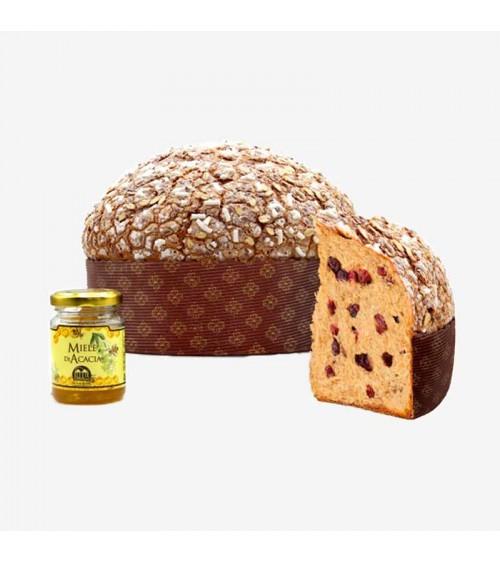 panettone le cuspidi ai cereali e miele