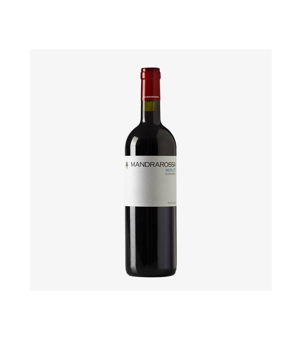 Merlot Rupenera Mandrarossa Vino Rosso