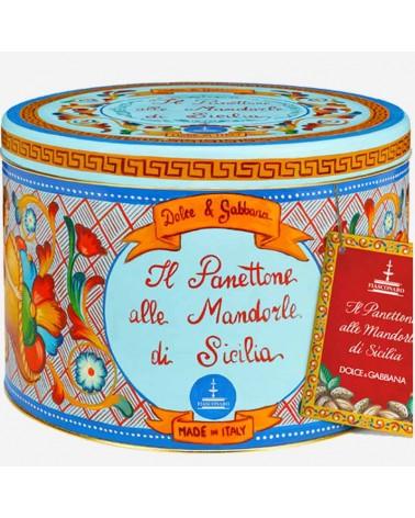Panettone alle Mandorle di Sicilia Dolce e Gabbana