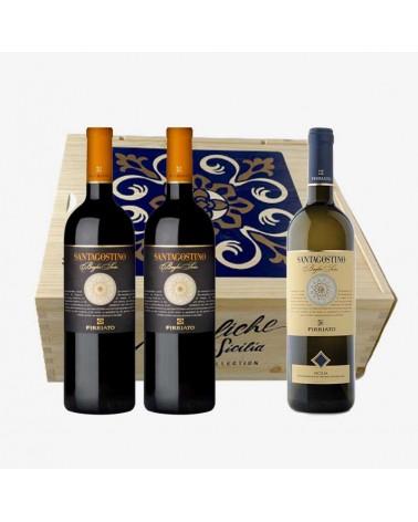 Confezione regalo vini Santagostino Firriato