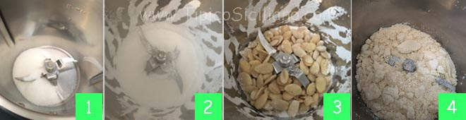 granita alla mandorla ricetta siciliana